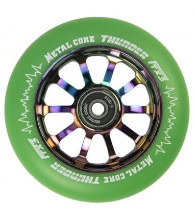 THUNDER FLUOR METAL CORE GREEN PU AND RAINBOW CORE