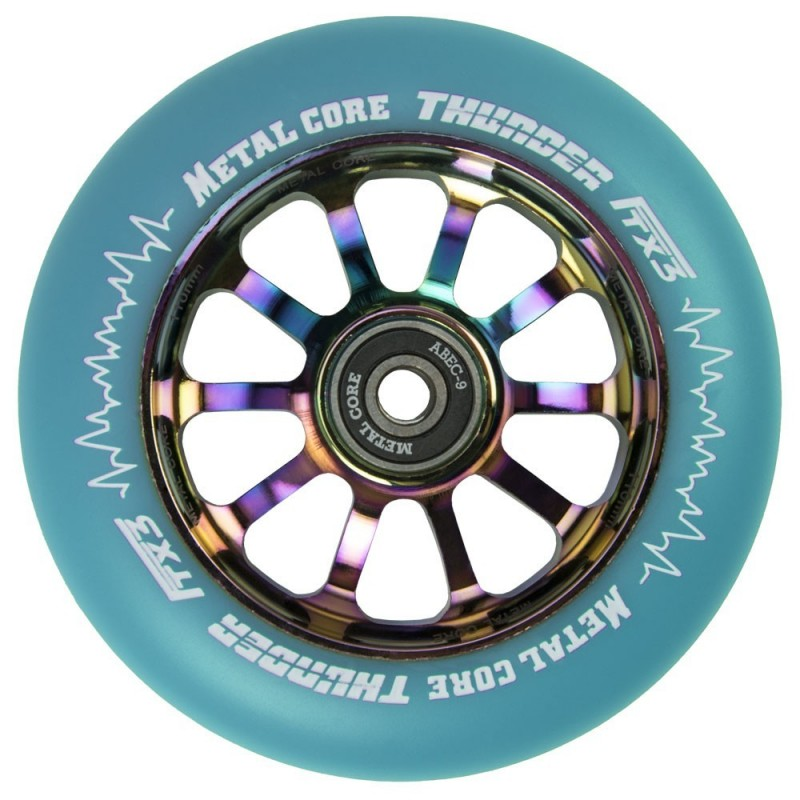 THUNDER FLUOR METAL CORE BLUE PU AND RAINBOW CORE