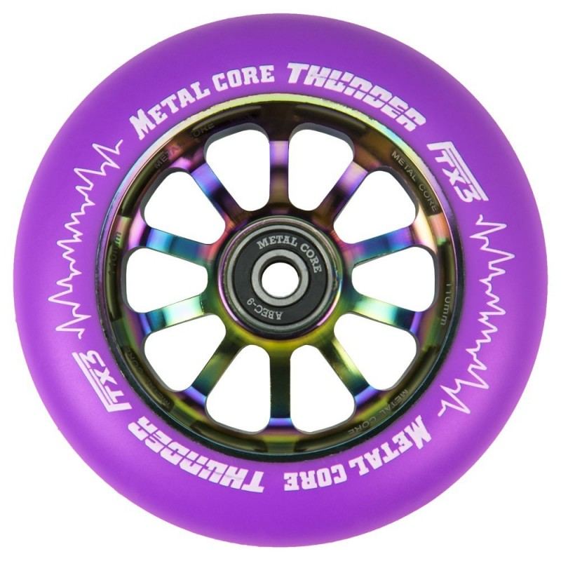 THUNDER FLUOR METAL CORE PURPLE PU AND RAINBOW CORE
