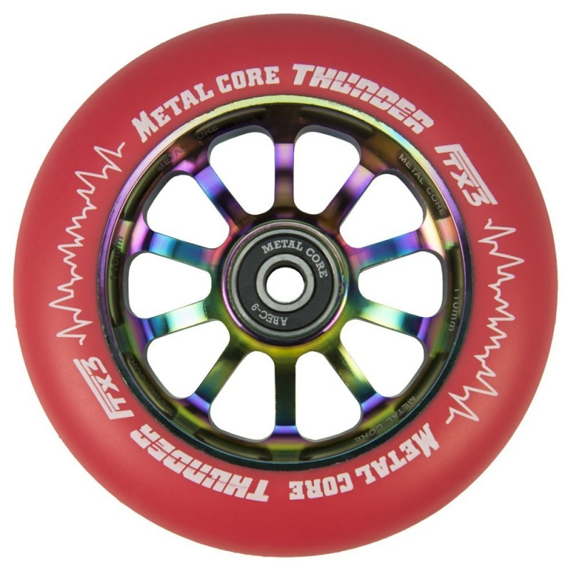 THUNDER FLUOR METAL CORE RED PU AND RAINBOW CORE