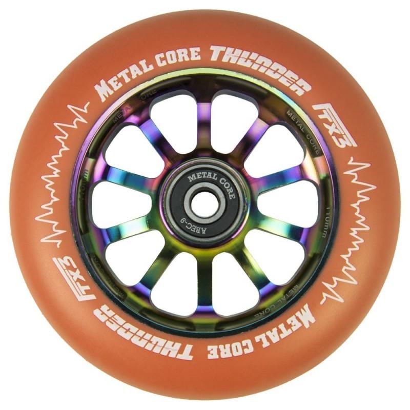 THUNDER FLUOR METAL CORE ORANGE PU AND RAINBOW CORE