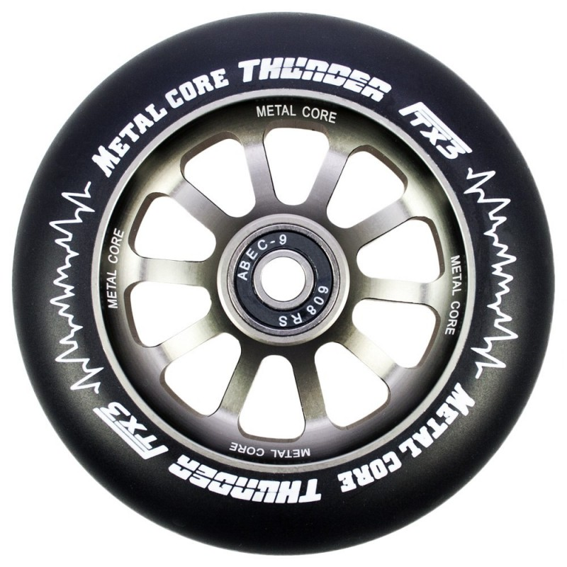 THUNDER METAL CORE  BLACK PU AND TITANIUM COLOR CORE