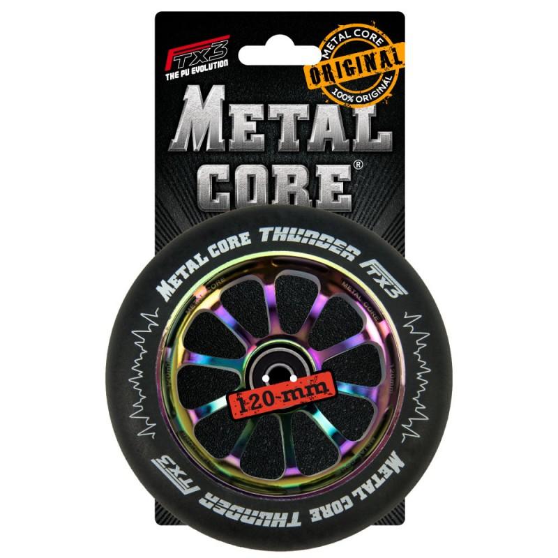 THUNDER METAL CORE  BLACK PU AND RAINBOW CORE