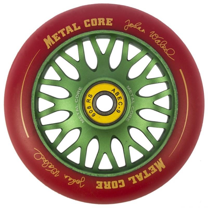 JOHAN WALZEL METAL CORE RED PU AND GREEN CORE