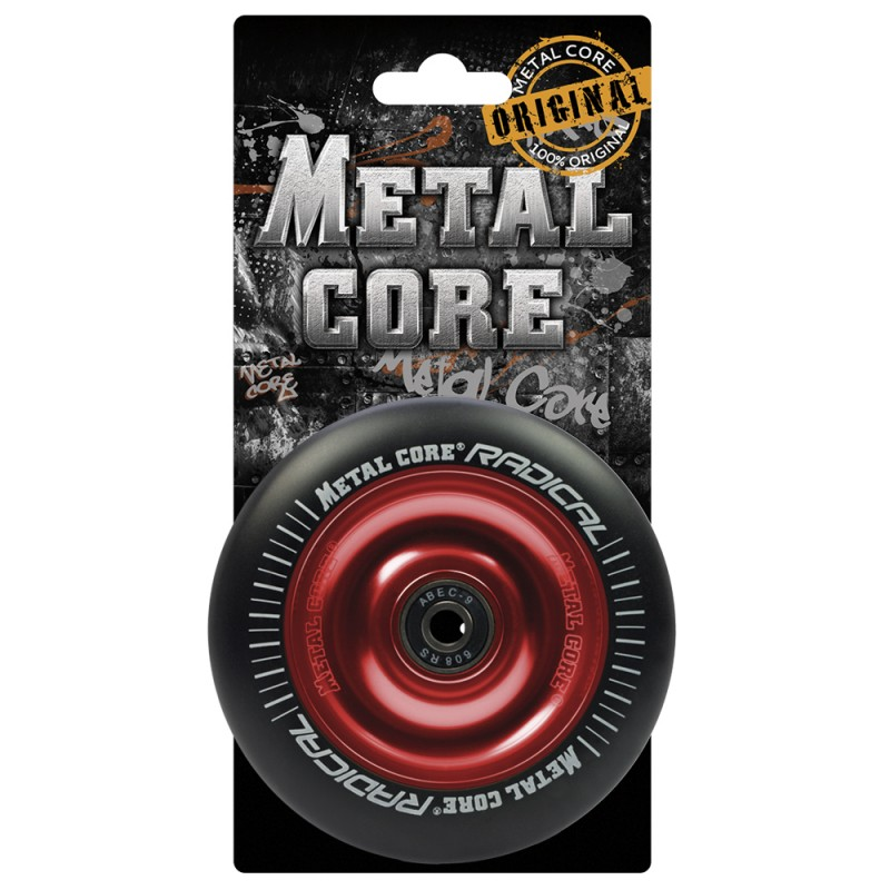 RADICAL METAL CORE BLACK PU AND RED CORE
