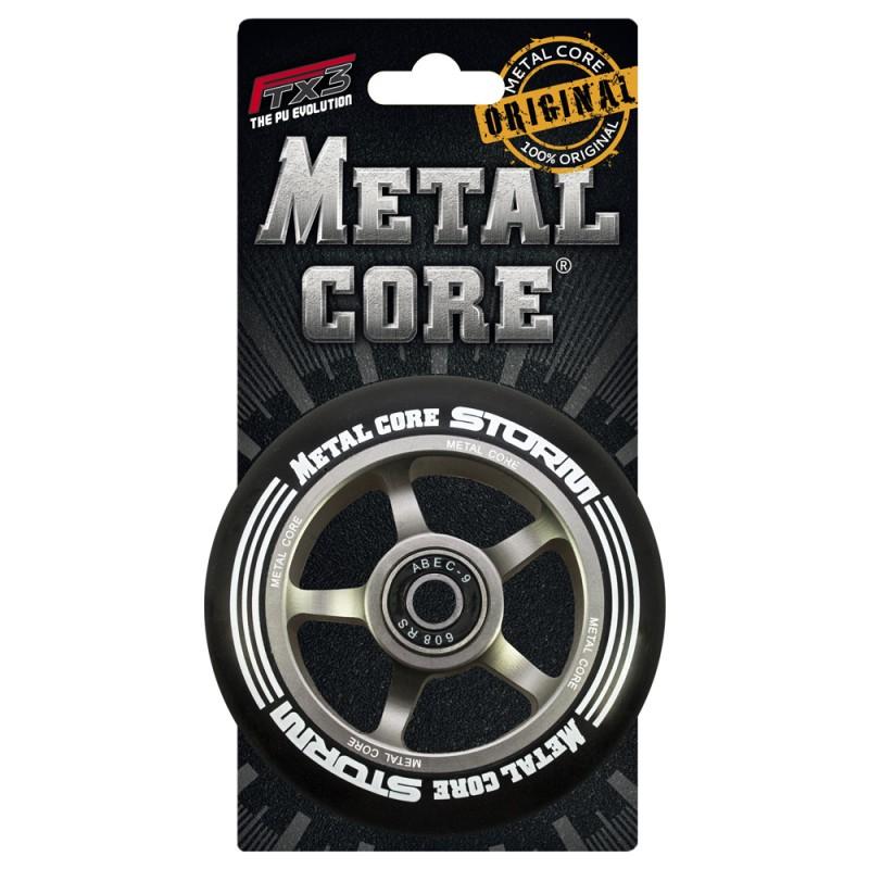 STORM METAL CORE BLACK PU AND TITANIUM CORE