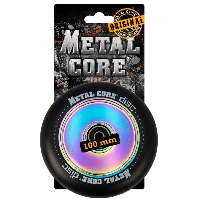DISC METAL CORE BLACK PU AND RAINBOW CORE