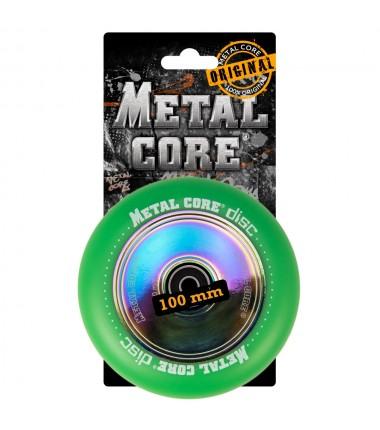 DISC METAL CORE GREEN PU AND RAINBOW CORE