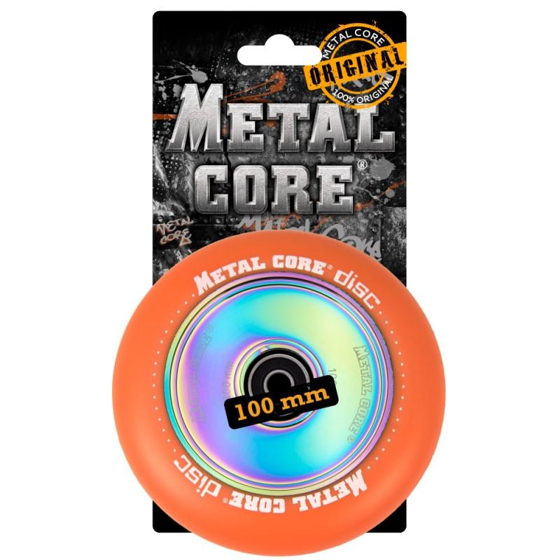 DISC METAL CORE ORANGE PU AND RAINBOW CORE