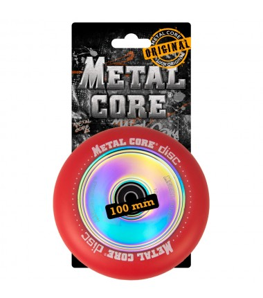 DISC METAL CORE RED PU AND RAINBOW CORE