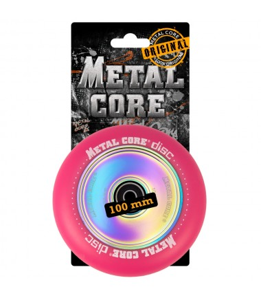 DISC METAL CORE PINK PU AND RAINBOW CORE