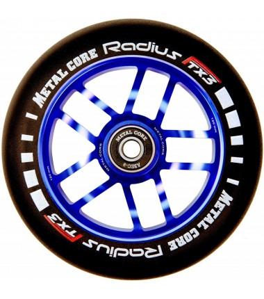 RADIUS METAL CORE 120 mm BLACK PU AND BLUE CORE