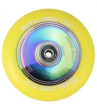 DISC METAL CORE YELLOW PU AND RAINBOW CORE
