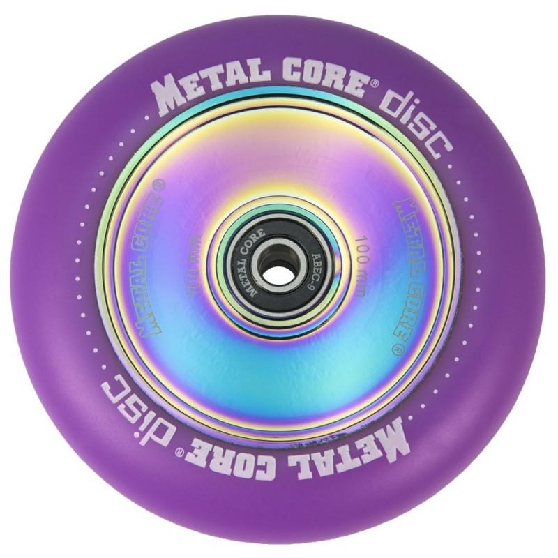 DISC METAL CORE PURPLE PU AND RAINBOW CORE